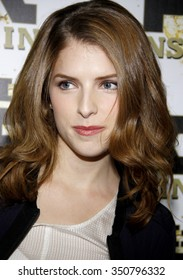Anna Kendrick at the Mr. Pink Ginseng Drink Launch Party held at the Regent Beverly Wilshire Hotel, Los Angeles, USA on October 11, 2012.