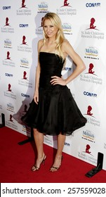 """Anna Kournikova at the """"Runway For Life"""" Benefiting St. Jude Children's Research Hospital held at the Beverly Hilton in Beverly Hills, California, United States."""