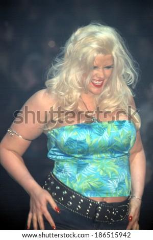 3c0de0683 Anna Nicole Smith LANE BRYANT LINGERIE Foto de stock (editar ahora ...