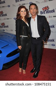 Anna Trebunskaya & Bruno Tonioli at the official launch of BritWeek 2012 in Hancock Park, Los Angeles. April 24, 2012  Los Angeles, CA Picture: Paul Smith / Featureflash