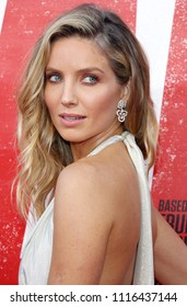 Annabelle Wallis at the Los Angeles premiere of 'Tag' held at the Regency Village Theatre in Westwood, USA on June 7, 2018.
