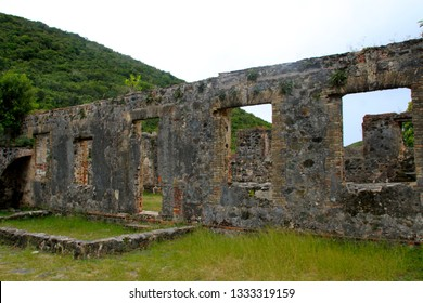 Annaberg Sugar Plantation Ruins in St. John, US Virgin Islands