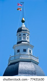 Annapolis Maryland Capitol Dome