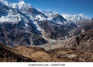 Annapurna circuit, way to Ice Lake