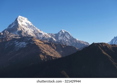 Annapurna  Himalaya Mountains ,Nepal
