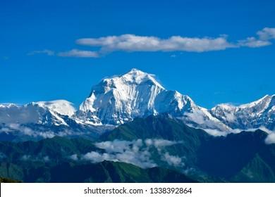 Annapurna Massif Summit Nepal Poon Hill Circuit Trek