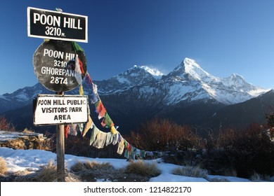 Annapurna from the poon hill, Nepal