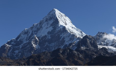 Annapurna South from Khopra Ridge - Western Nepal
