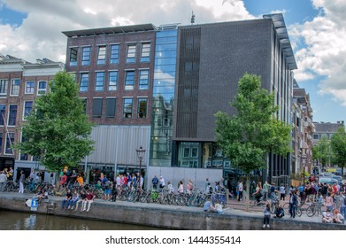 The Anne Frank House At Amsterdam The Netherlands 2019