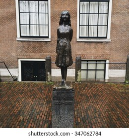 Anne Frank's memorial in Amsterdam