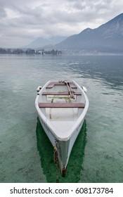 Annecy lake - Haute-Savoie, France.