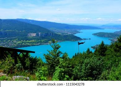 Annecy lake view
