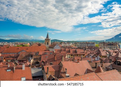 Annecy - Roofs of Old  town,  Savoy, France