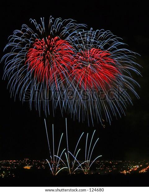 An annual fireworks display...