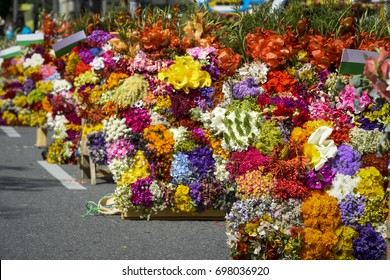 The Annual Flower Parade, Festival Of The Flowers, Medellin, Antioquia, Colombia