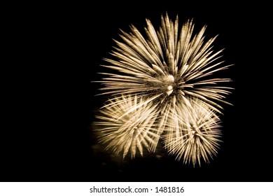 Annual Montreal fireworks festival.