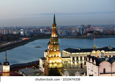 The Annunciation Cathedral of the Kazan Kremlin. Temples of Tatarstan