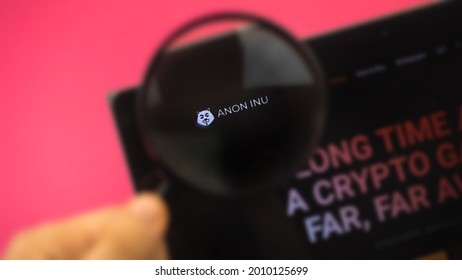 Anon Inu new cryptocurrency, hacker anonymous digital money