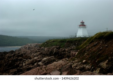 Another dreamy place. Rocky edges are a good place to sit and not worry about beach or sand. Atlantic is rough, but there is peace in the sound of waves. Fog always rolls in.