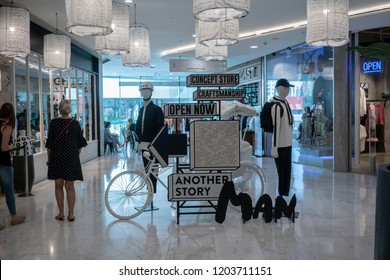 Another Story shop at Emquatier, Bangkok, Thailand, Oct 15, 2018 : Lifestyle shop for new generation. Visual merchandising at front store.
