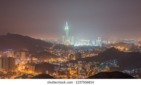 another view of mecca city from an-nur mountain