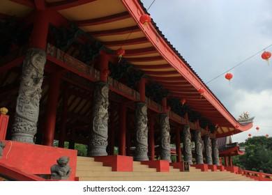 Another view of Sam po kong pagoda, Semarang, Indonesia