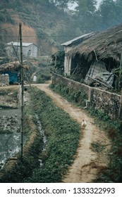 Another village road in the North of Vietnam