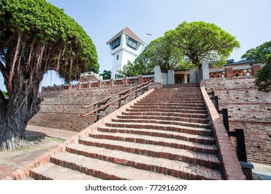 Anping Fortress, an old Dutch VOC fortress in Tainan, Taiwan - Asia