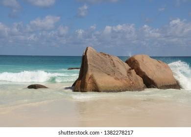 Anse Lazio, Praslin Island, Seychelles.
