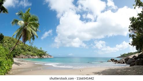 Anse major beach, Mahe, Seychelles