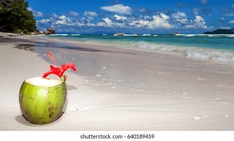 Anse Severe beach, La Digue, Seychelles