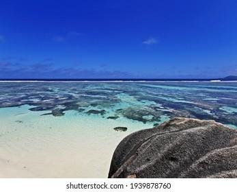 anse source d'argent beach on seychelle island