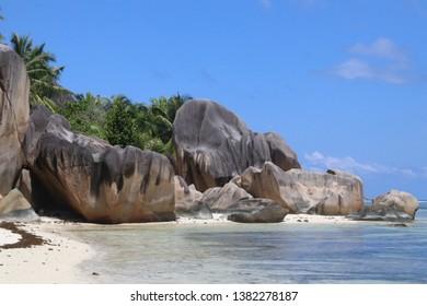 Anse Source d'Argent, La Digue, Seychelles.