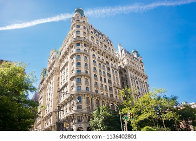 Ansonia building in New York on Broadway