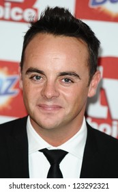 Ant McPartlin arriving for the 2012 TVChoice Awards, at the Dorchester Hotel, London. 10/09/2012. Picture by:  Steve Vas