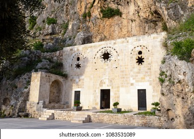 Antakya, Hatay / Turkey - 04/25/2018 : Saint Pierre Church in Antakya (Hatay) Turkey. This cave, which was used by by the very first disciples called Christians, is one of Christianity's oldest church