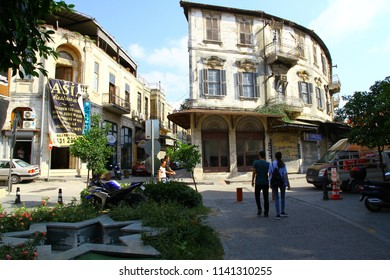 ANTAKYA, TURKEY - 20 July 2018. A view from Antakya streets. Beautiful building architecture can be seen in the center of old city.