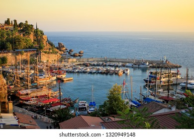 Antalya harbor turkey