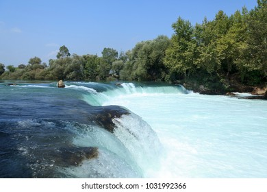 Antalya Turkey Manavgat Waterfall