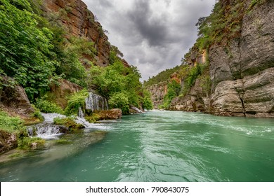 Antalya - Turkey. May 01, 2017. Koprulu Canyon, Manavgat, Antalya - Turkey.