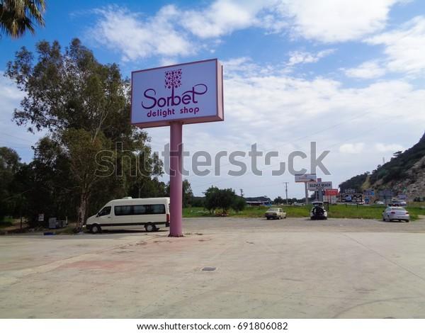 Antalya Turkey May 9 2017 On Stock Photo (Edit Now) 691806082