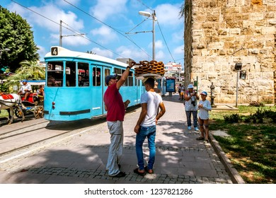 Antalya. Turkey.4 June 2018. people on the streets of the old city Kaleici in Antalya