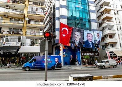 Antalya. Turkey.5 June 2018.view of houses and streets in Turkey in Antalya.