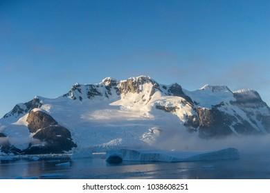 Antarctic landscape view