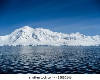 Antarctic ocean, snow and ice