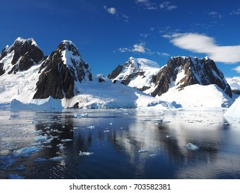 Antarctic Peninsula Antarctica Landscape Reflection