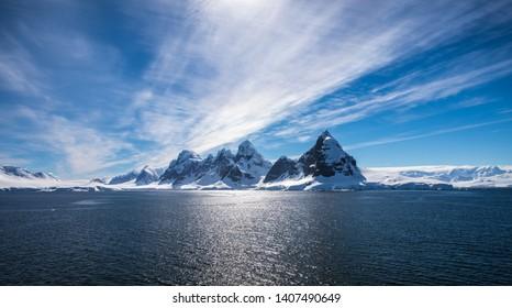 Antarctic Peninsula during the summer