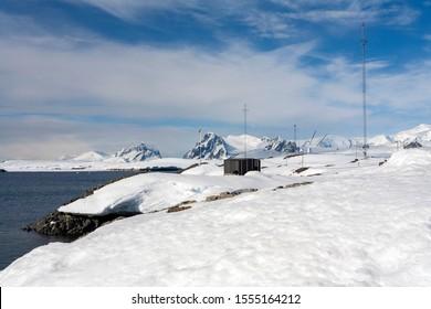 Antarctica. 12.05.05. Vernadsky Research Base - a Ukrainian Antarctic Station located at Marina Point in Antarctica.