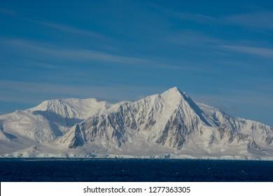 Antarctica. Antarctic Peninsula. South of the Antarctic Circle. near Adelaide Island.