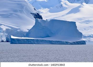 Antarctica Peninsula, Antartica. December 27, 2018. Drifter iceberg.